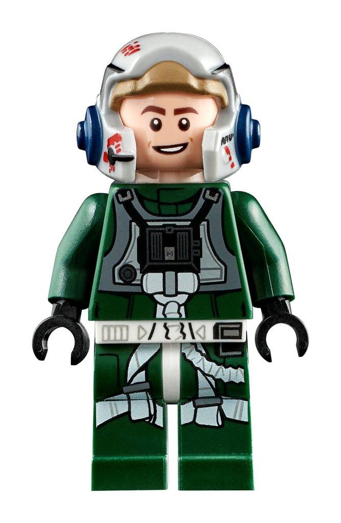 A-Wing pilot Minifigure.