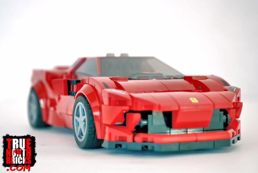 Ferrari F8 Tributo front view.