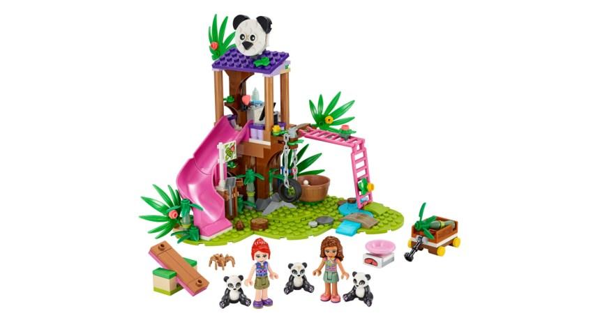 Summer 2020 Friends Panda Jungle Tree House