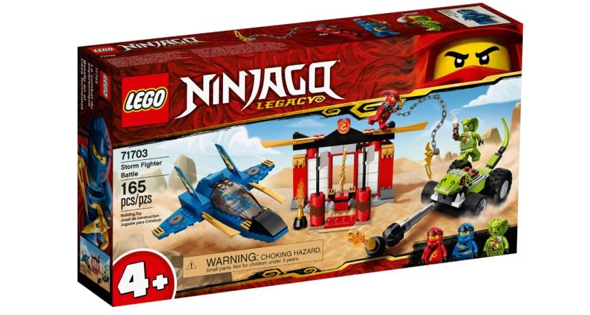 Summer 2020 Ninjago Storm Fighter Battle