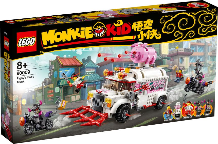 Monkie Kid set: Pigsy's Food Truck