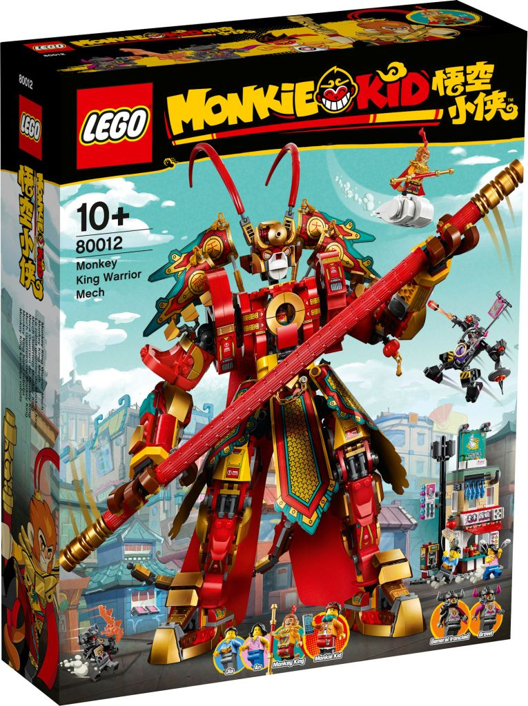 Monkie Kid set: Monkey King Warrior Mech