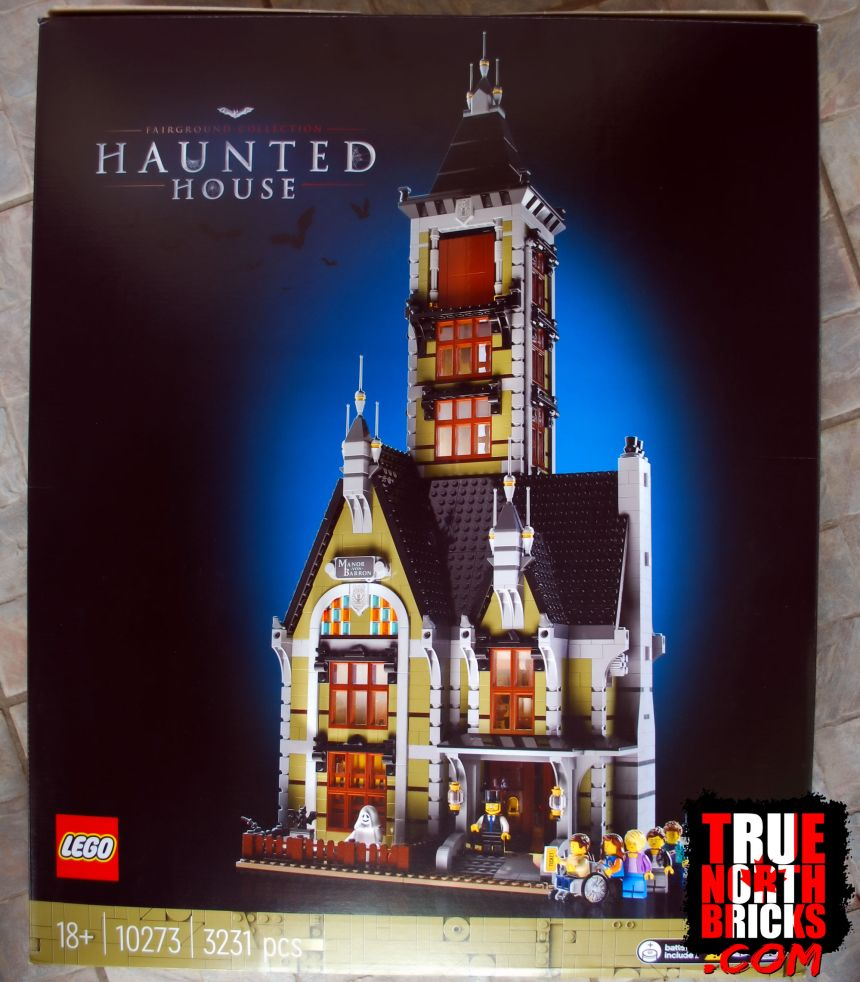 Haunted House (10273) front box art.