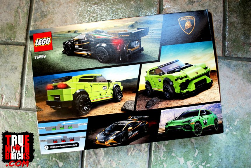 LEGO® Speed Champions Lamborghini (76899) box art.