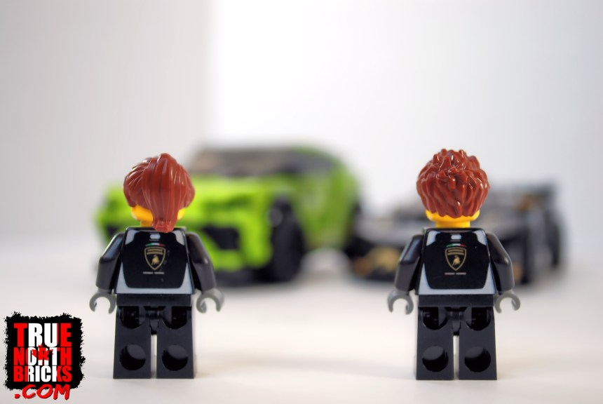 Lamborghini (76899) Minifigures.