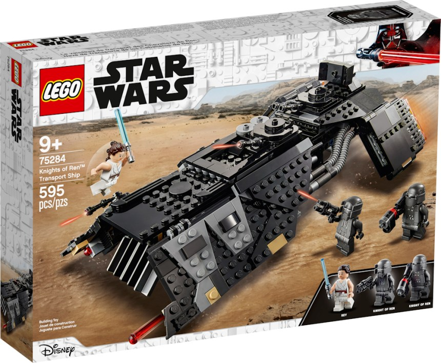 Summer 2020 Star Wars Knight of Ren Transport Ship