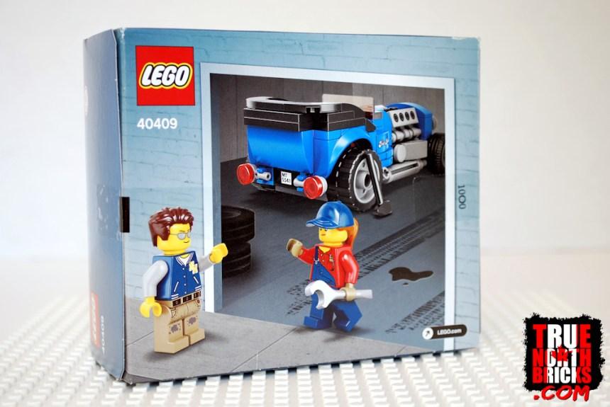 Hot Rod (40409) rear box art.