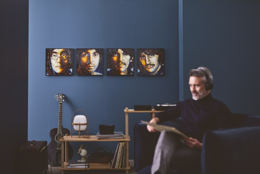 Beatles  LEGO® art kit