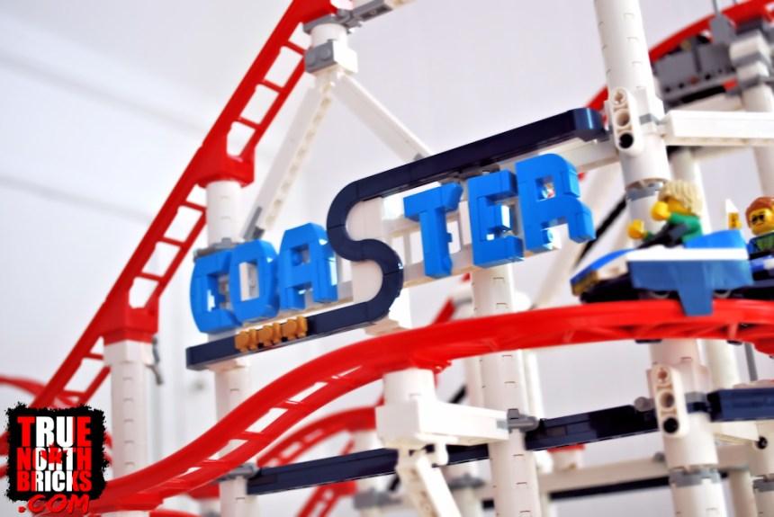 Roller Coaster (10261) sign.