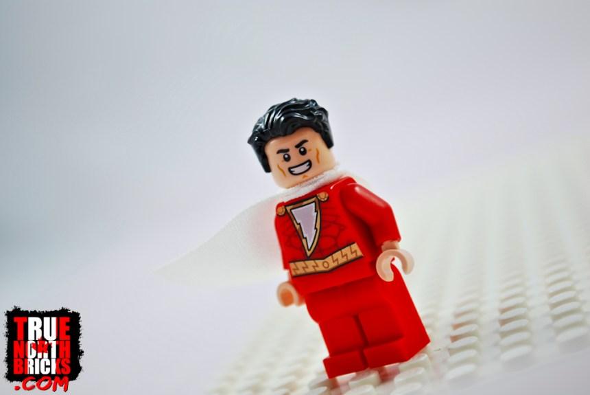 Shazam Minifigure front view