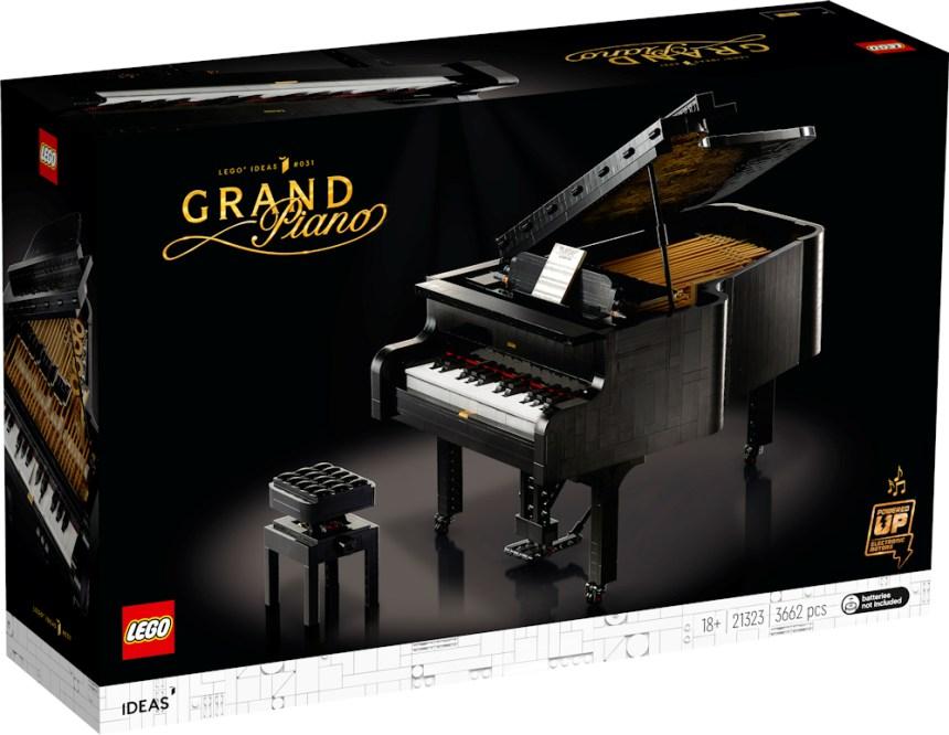 Grand Piano (21323) box art