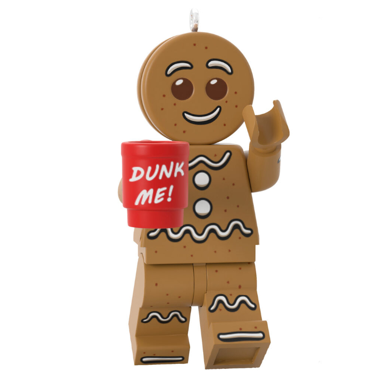 Hallmark 2020 ornament: Gingerbread Man