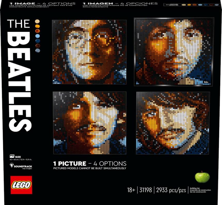 LEGO Art kits: The Beatles