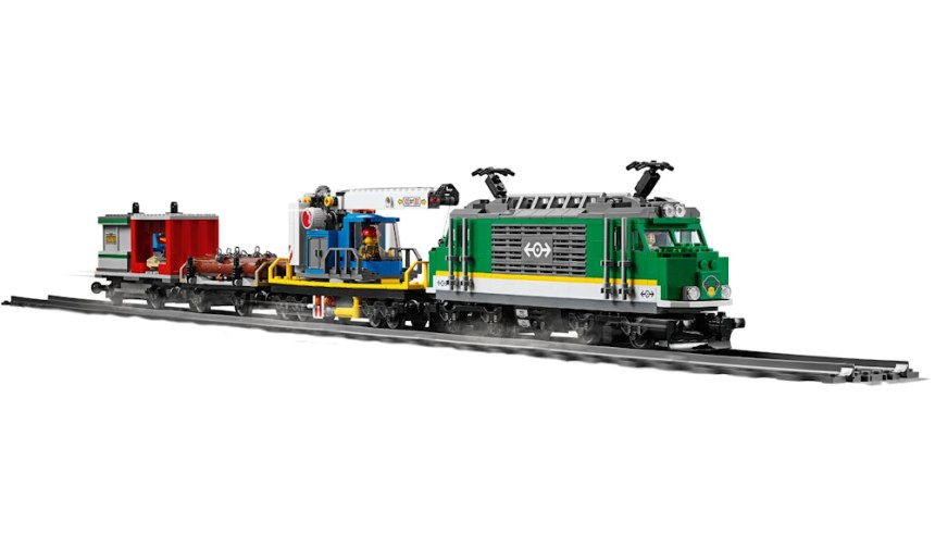 Top 10 biggest City sets: Cargo Train