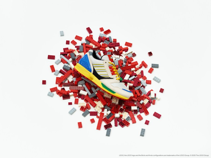 Adidas A-ZX LEGO sneakers