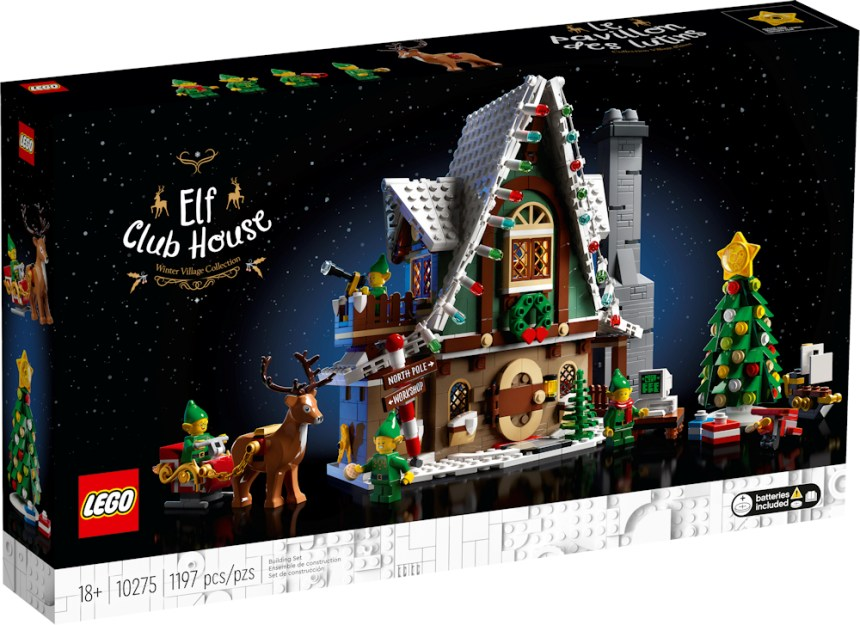 Front box art for Elf Club House coming soon.