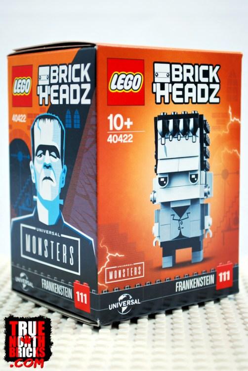 BrickHeadz Frankenstein (40422) box art.