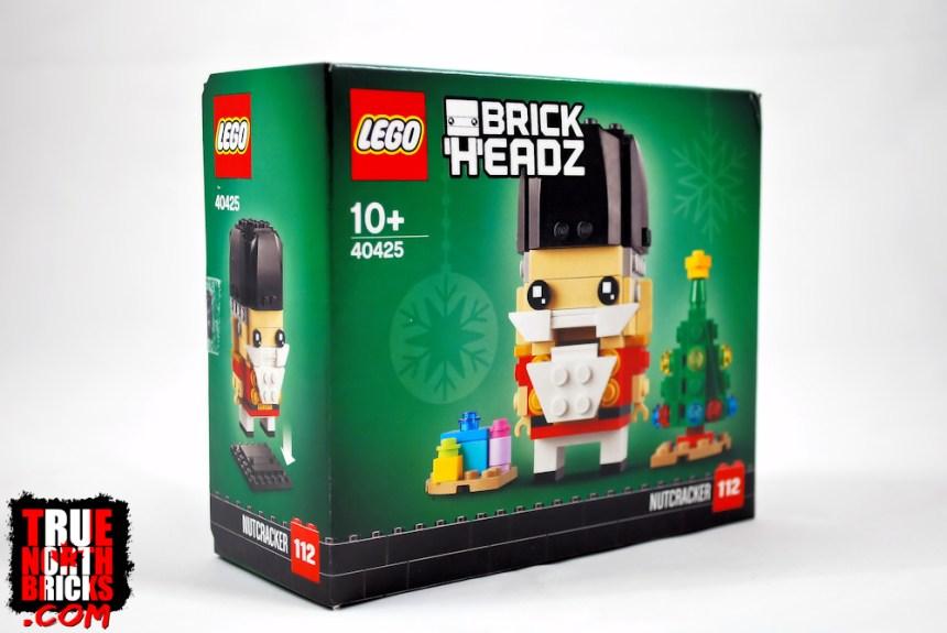 BrickHeadz Nutcracker (40425) box art.