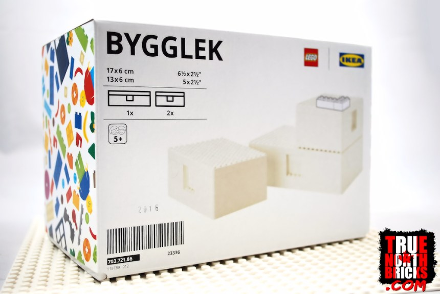 BYGGLEK Storage box packaging