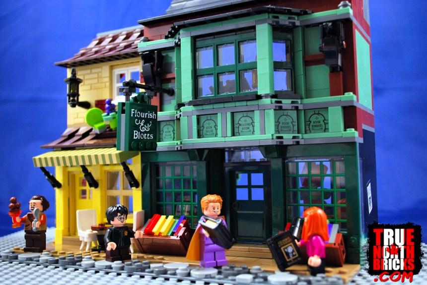 Diagon Alley (75978) Flourish & Botts and Ice Cream Parlor