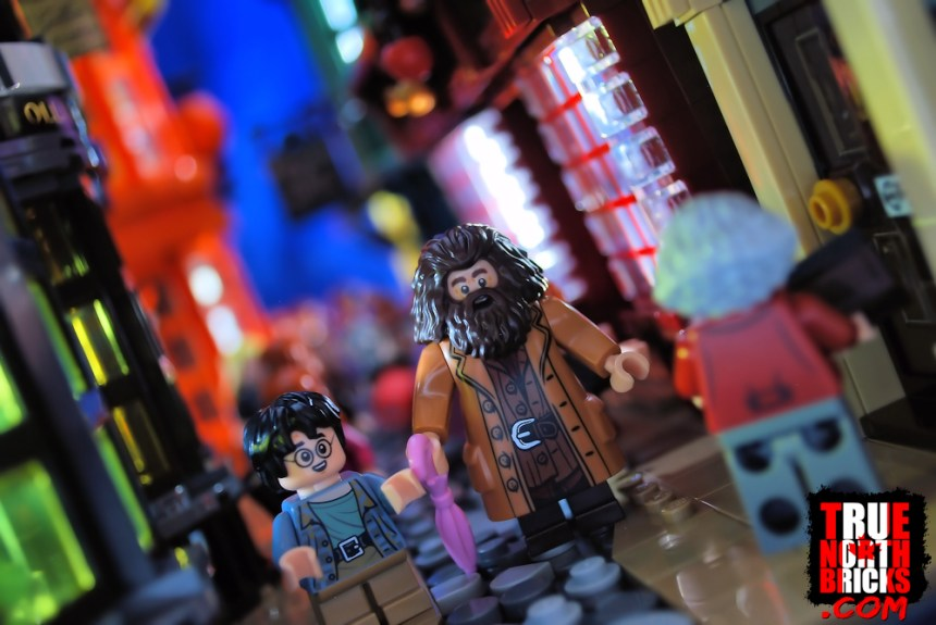 Diagon Alley (75978) with Harry and Hagrid.