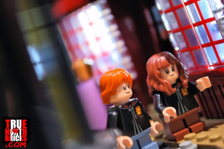 Diagon Alley (75978) with Ron and Hermione.