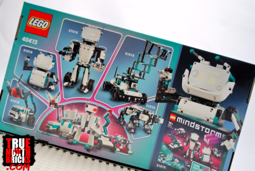 Mini Robots (40413) rear box art.