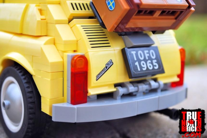 Fiat 500 (10271) license plate.