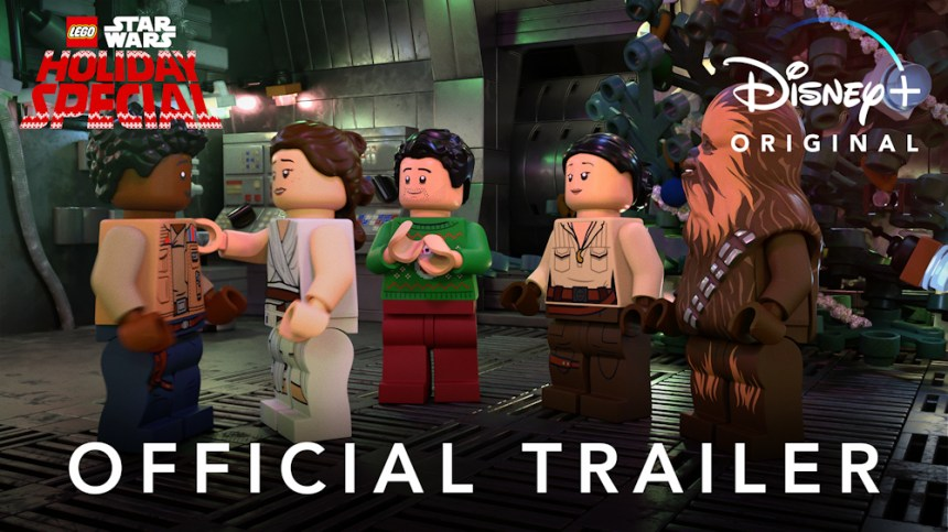 LEGO® Star Wars Holiday Special Trailer advertisement.