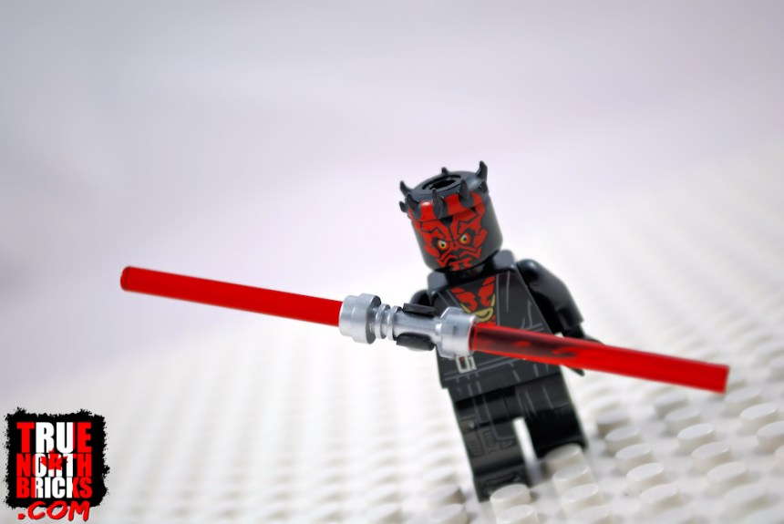 Star Wars Character Encyclopedia exclusive Darth Maul Minifigure.