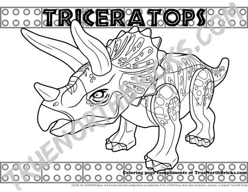 Triceratops Minifigure Monday.