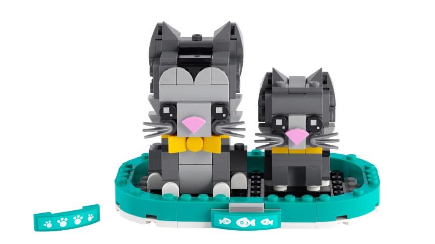 More January 2021 sets from LEGO: BrickHeadz Shorthair Cats
