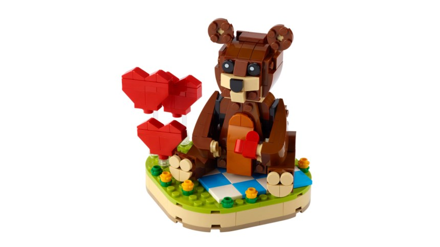 More January 2021 sets from LEGO: Valentine's Brown Bear