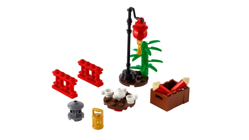 More January 2021 sets from LEGO: Chinatown xtra polybag