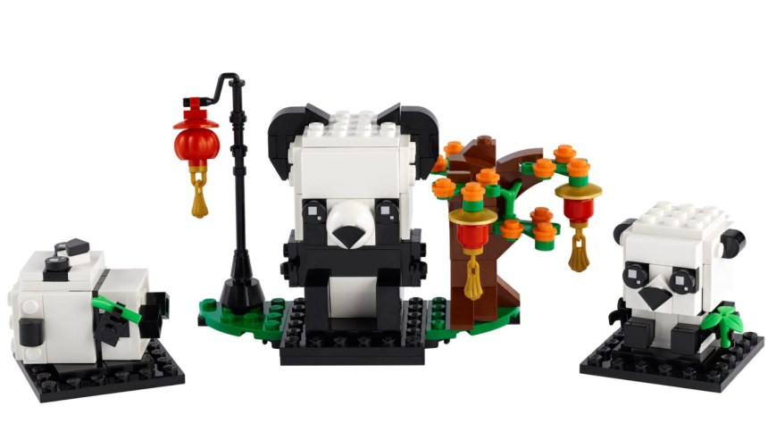 More January 2021 sets from LEGO: Chinese New Year Pandas
