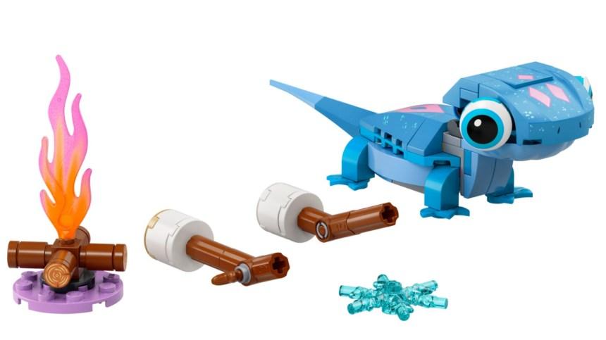 More January 2021 sets: Bruni the Salamander Buildable Character