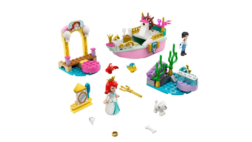 More January 2021 sets from LEGO: Ariel's Celebration Boat.