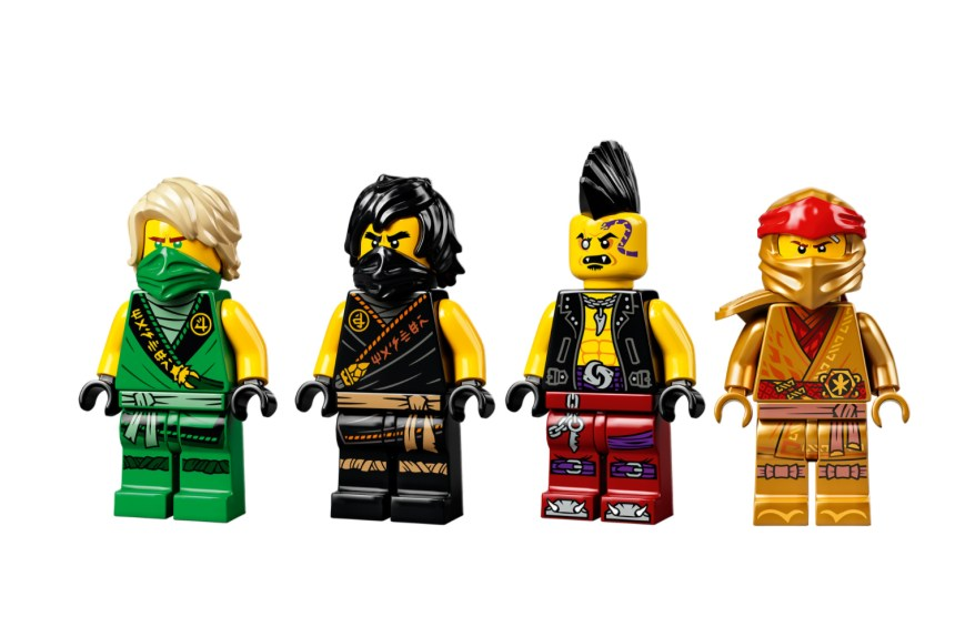 January 2021 Ninjago Boulder Blaster Minifigures