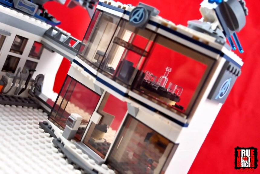 Avengers Compound Battle main building.