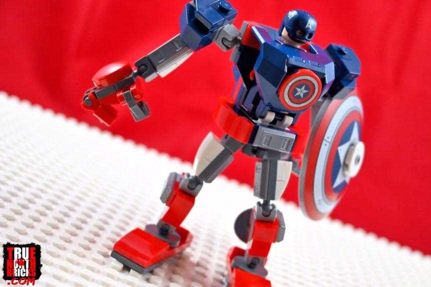 Captain America Mech Armor front view