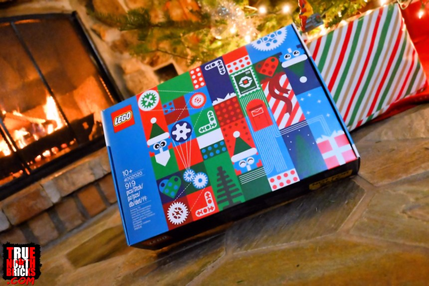 2020 Employee Christmas Gift box front view.