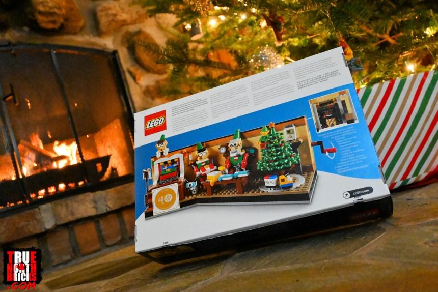 2020 Employee Christmas Gift box rear view.