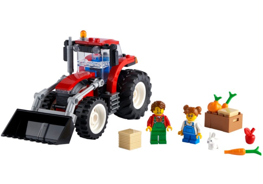 January 2021 City Sets: Tractor