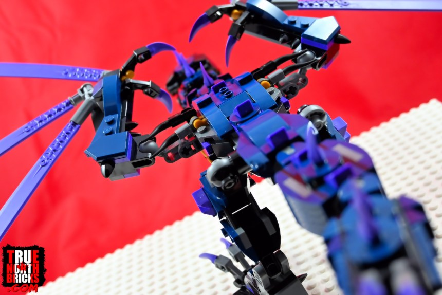 Rear view of Overlord Dragon.