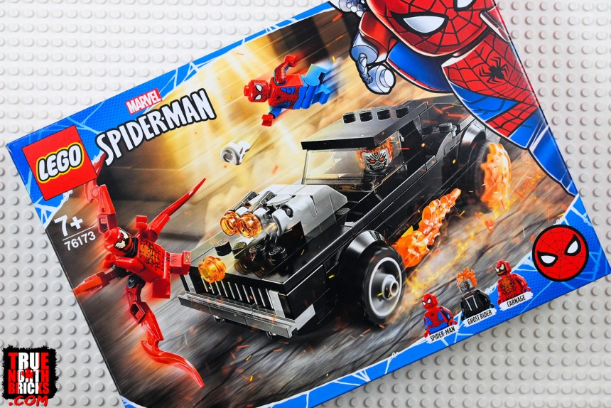Spider-Man and Ghost Rider VS Carnage front box art.