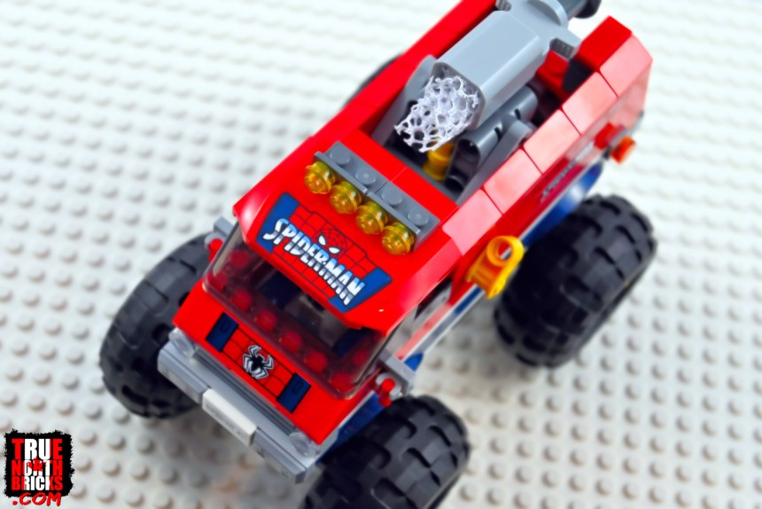 Spider-Man's Monster Truck overhead view