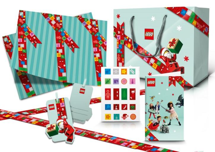 December 2020 calendar gift wrap freebie