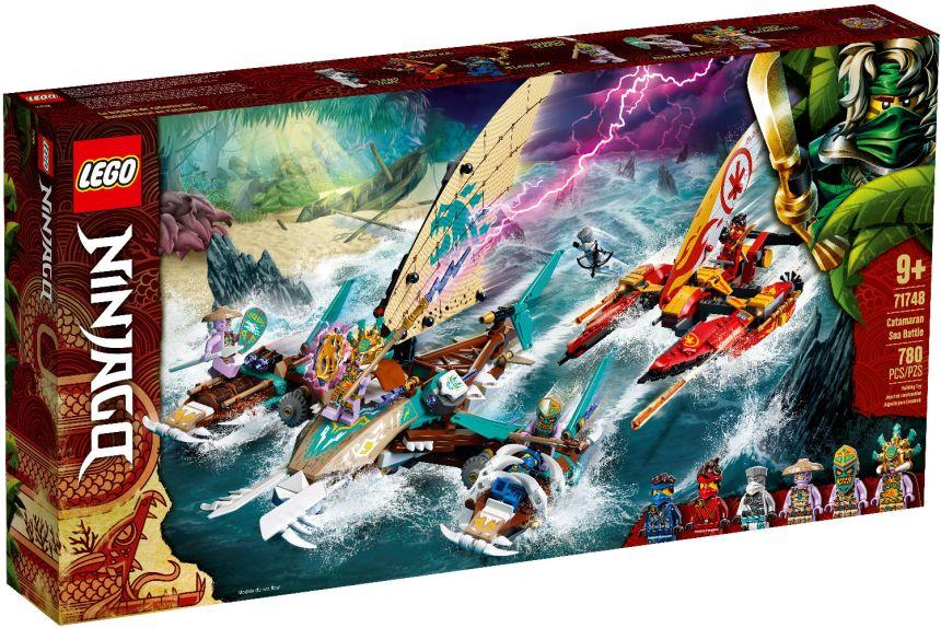 March 2021 Ninjago Sets: Catamaran Sea Battle