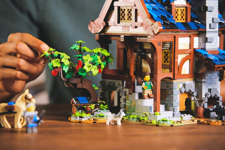 Medieval Blacksmith coming soon from LEGO Ideas.