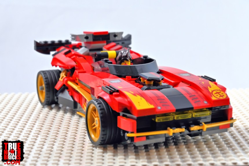 X-1 Ninja Charger front view